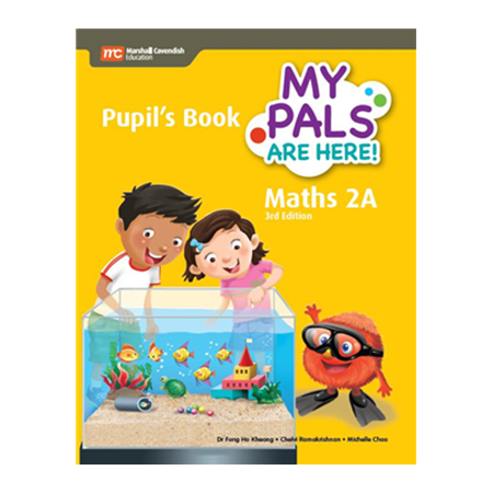 My Pals Are Here! Maths (3rd Edition) Pupil\'s Book 2A (Print plus E-Book) (ISBN: 9789813164178)