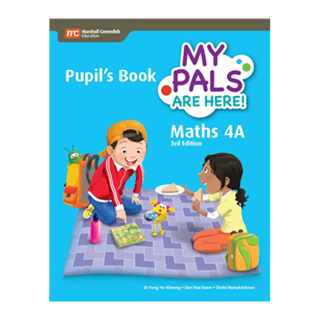 My Pals are Here! Maths (3rd Edition) Pupil\'s Book 4A (Print plus E-Book) (ISBN: 9789813164215)