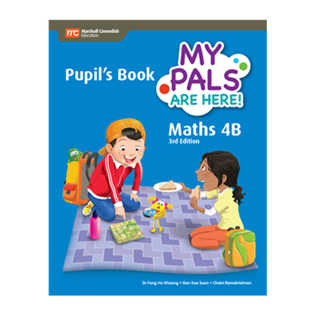 My Pals are Here! Maths (3rd Edition) Pupil\'s Book 4B (Print plus E-Book) (ISBN: 9789813164222)