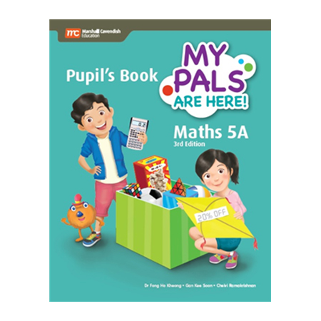 My Pals are Here! Maths (3rd Edition) Pupil\'s Book 5A (Print plus E-Book) (ISBN: 9789813164062)