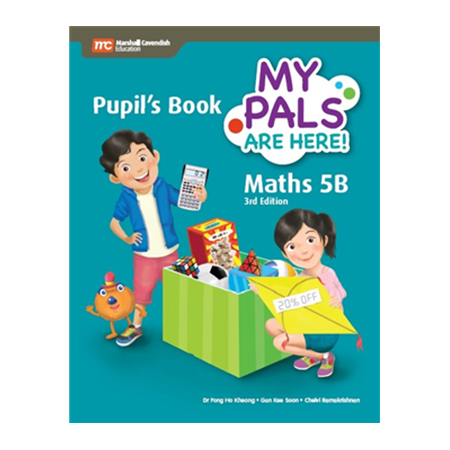 My Pals are Here! Maths (3rd Edition) Pupil\'s Book 5B (Print plus E-Book) (ISBN: 9789813164079)