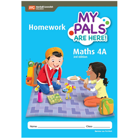 My Pals Are Here! Maths (3rd Edition) Homework 4A (ISBN: 9789814433549)