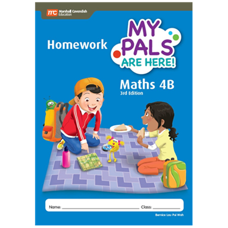 My Pals are Here! Maths (3rd Edition) Homework 4B (ISBN: 9789814433556)