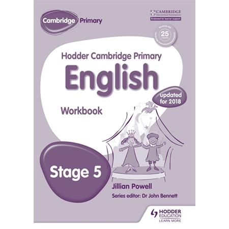Hodder Cambridge Primary English: Work Book Stage 5 (ISBN: 9781471830969)