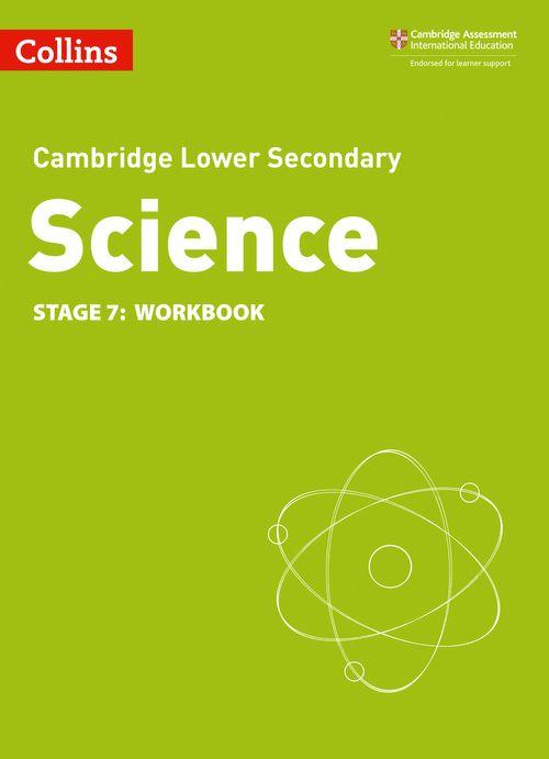 Camb Lower Sec Science Workbk: Stg7 2ed (ISBN:9780008364311)