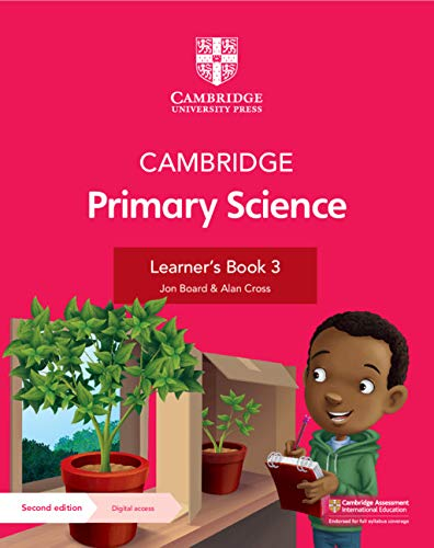 Cambridge Primary Science Learner's Book with Digital Access Stage 3 (1 year) (ISBN:9781108742764)