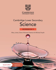 Cambridge Lower Secondary Science Workbook with Digital Access Stage 9 (1 year) (ISBN:9781108742894)