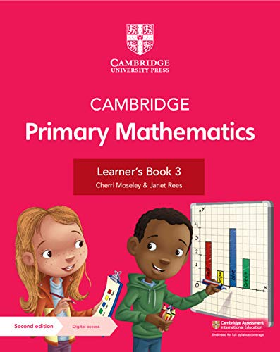 Cambridge Primary Mathematics Learner's Book with Digital Access Stage 3 (1 year) (ISBN:9781108746489)