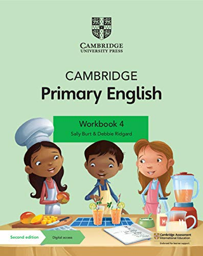 Cambridge Primary English Workbook with Digital Access Stage 4 (1 year) (ISBN:9781108760010)