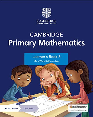 Cambridge Primary Mathematics Learner's Book with Digital Access Stage 5 (1 year) (ISBN:9781108760034)