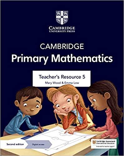 Cambridge Primary Mathematics Teacher's Resource with Digital Access Stage 5 (ISBN:9781108771207)