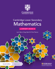 Cambridge Lower Secondary Mathematics Learner's Book with Digital Access Stage 8 (1 year) (ISBN:9781108771528)