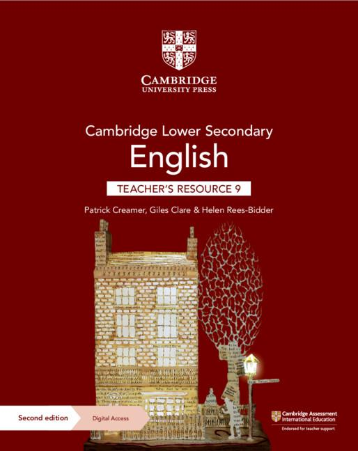 Cambridge Lower Secondary English Teacher's Resource with Digital Access Stage 9 (ISBN:9781108782166)