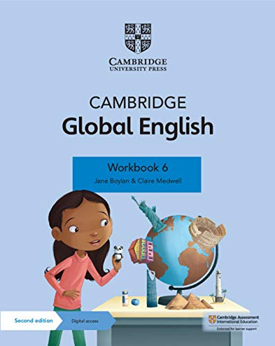 Cambridge Global English Workbook with Digital Access Stage 6 (1 year) (ISBN:9781108810906)