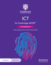 Cambridge IGCSE™ ICT Coursebook with Digital Access (2 years) (ISBN:9781108901093)