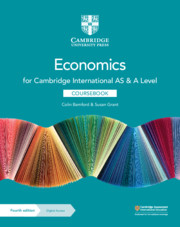 Cambridge International AS & A Level Economics Coursebook with Digital Access (2 Years) (ISBN:9781108903417)