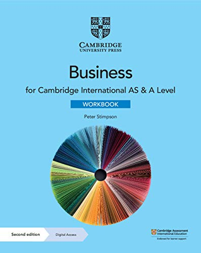 Cambridge International AS & A Level Business Workbook with Digital Access (2 Years) (ISBN:9781108926003)