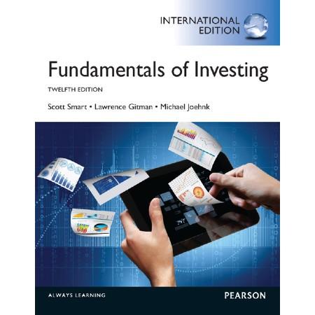 Fundamentals of Investing, International Edition (ISBN: 9781292000275)