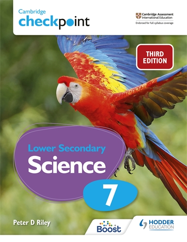 CAMB CHECKPOINT LOW SEC SCIENCE STUDENT'S BOOK 7: 3ED (ISBN:9781398300187)