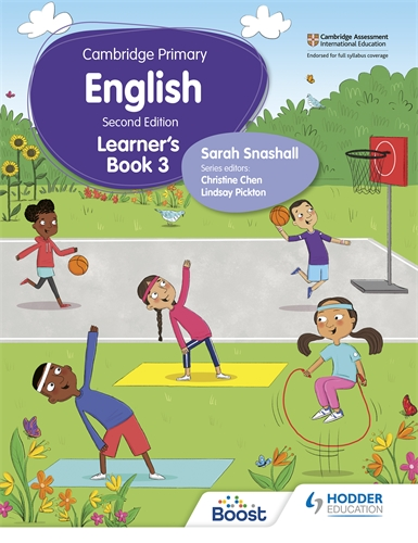 CAMBRIDGE PRIMARY ENGLISH LEARNER'S BOOK 3 (ISBN:9781398300262)