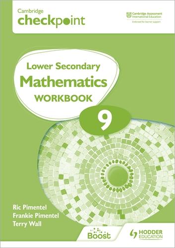 CAMB CHECKPOINT LOW SEC MATHEMATICS WORKBK 9: 2ED (ISBN:9781398301306)