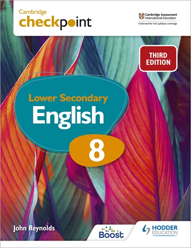 CAMB CHECKPOINT LOW SEC ENG SB 8: 3ED (ISBN:9781398301849)