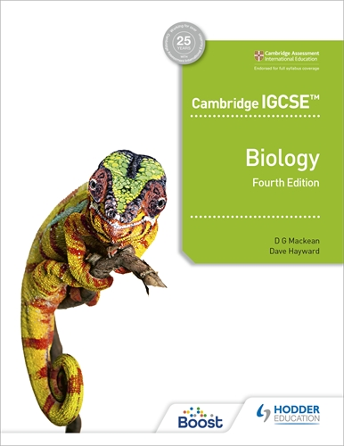 CAMB IGCSE™ BIOLOGY 4TH EDITION (ISBN:9781398310452)