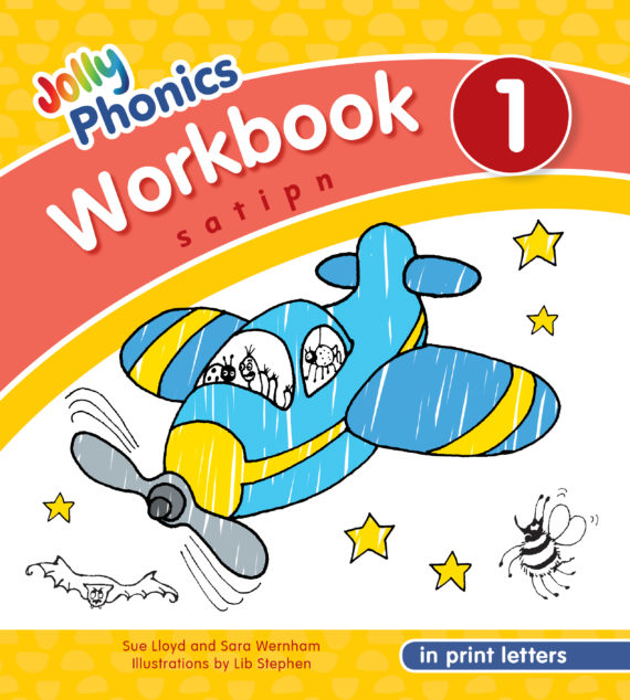 NEW JOLLY PHONICS WORKBOOK 1 IN PRINT LETTERS (ISBN:9781844146758)