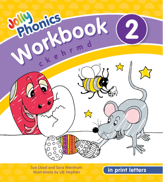 NEW JOLLY PHONICS WORKBOOK 2 IN PRINT LETTERS (ISBN:9781844146765)