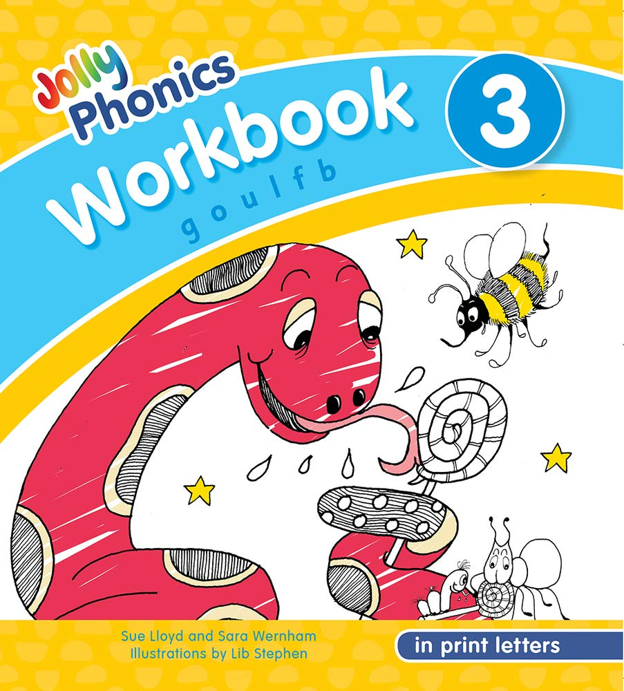 NEW JOLLY PHONICS WORKBOOK 3 IN PRINT LETTERS (ISBN:9781844146772)