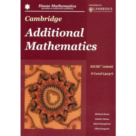 Cambridge IGCSE Additional Mathematics (ISBN: 9781921972423)