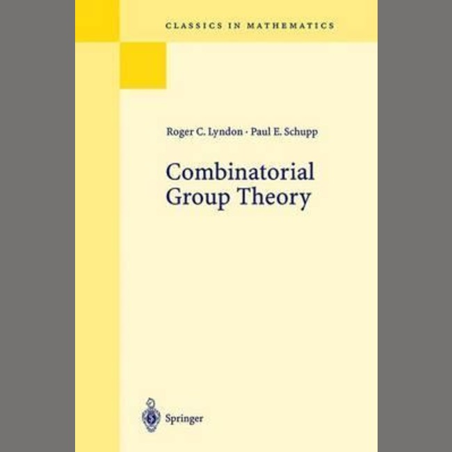 Combinatorial Group Theory (ISBN: 9783540411581)