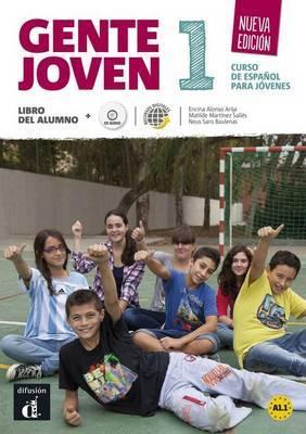 GENTE JOVEN 1 NUEVA EDICIAN LIBRO DEL ALUMNO + CD (ISBN: 9788415620754)
