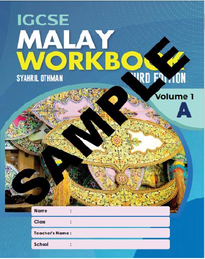 IGCSE MALAY WORKBOOK 3RD EDITION VOLUME 1A (ISBN:9789671946602)