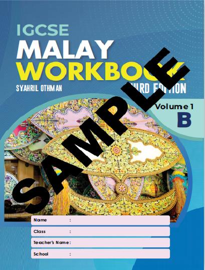 IGCSE MALAY WORKBOOK 3RD EDITION VOLUME 1B (ISBN:9789671946619)