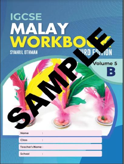 IGCSE MALAY WORKBOOK 3RD EDITION VOLUME 5B (ISBN:9789671946695)