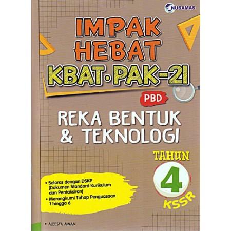 Impak Hebat Reka Bentuk & Teknologi Tahun 4 (ISBN: 9789674872427)