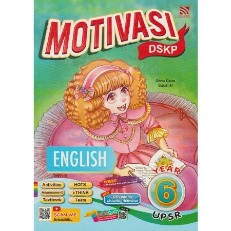 Motivasi DSKP: English Year 6 UPSR (ISBN: 9789830085685)