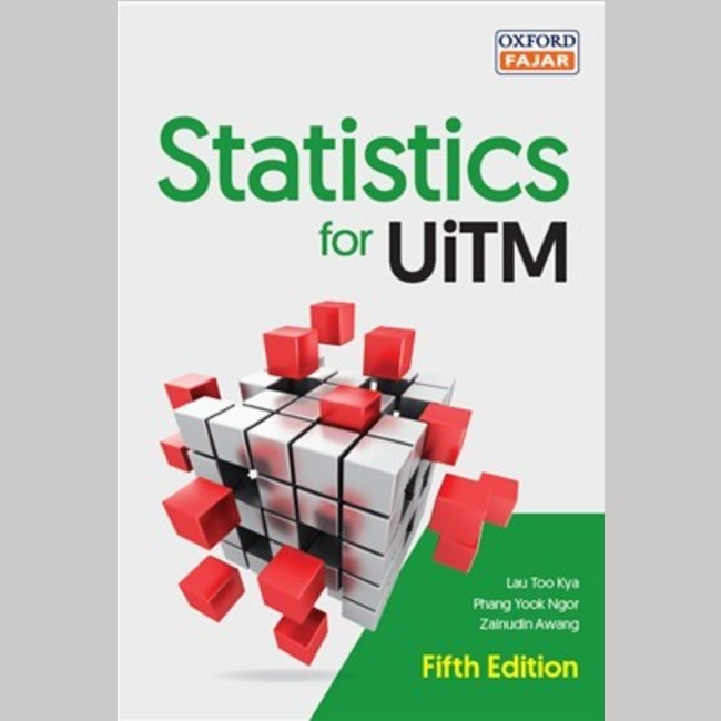 STATISTIC FOR UITM FIFTH EDITION (9789834729592)
