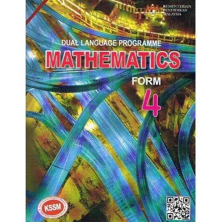 Textbook Mathematics Form 4-DLP (ISBN: 9789837715318)